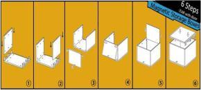 6 Steps:Quick Assemble
