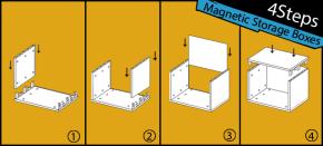 4 Steps:Quick Assemble